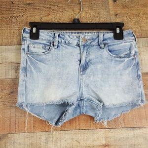 Bull Head Denim Shorts Girl's Size 25 Blue B28